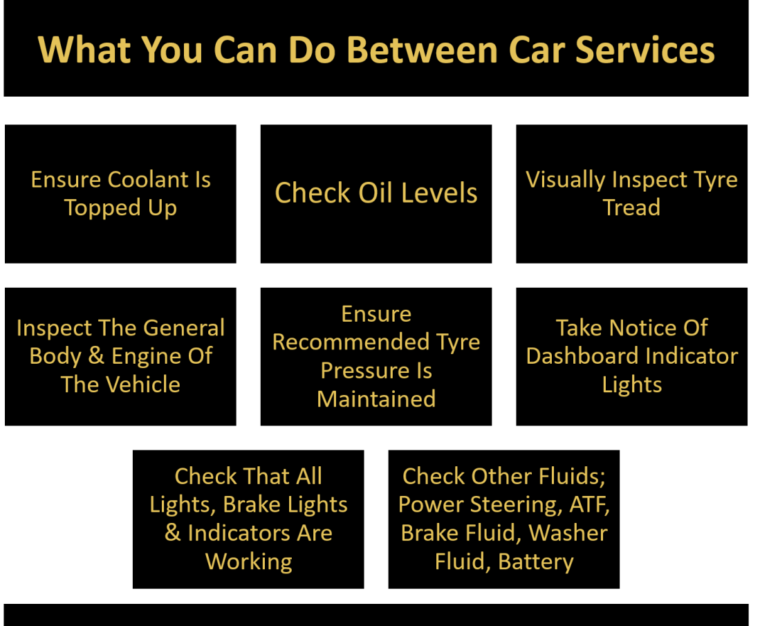 what can you do between car services